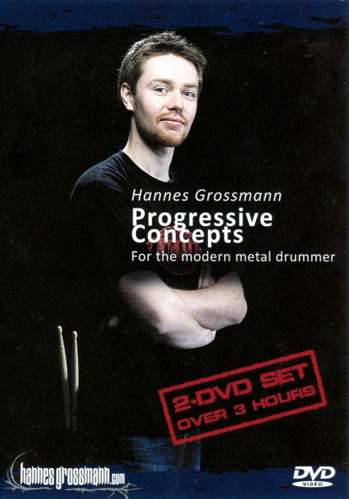 DVD: Progressive Concepts for the modern metal drummer